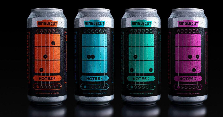 SingleCut ra mắt thiết kế lon sáng tạo, giúp thổi bùng đam mê guitar khi đang thưởng thức bia