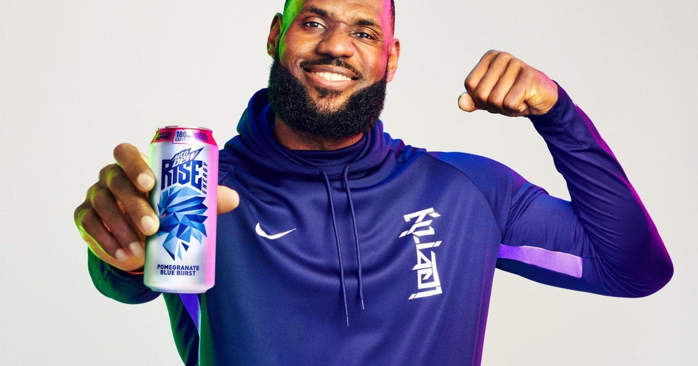 Mtn Dew bắt tay với nhà vô địch NBA LeBron James, ra mắt sản phẩm mới Mtn Dew Rise Energy