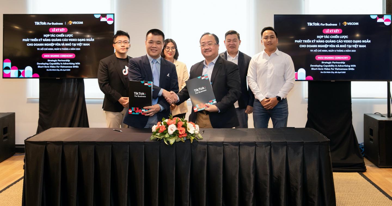 TikTok cam kết đầu tư mạnh vào nguồn lực hỗ trợ SME tại Việt Nam