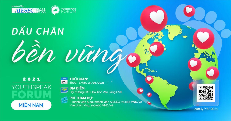 YOUTHSPEAK FORUM 2021  - KHÔNG GIAN HÀNH ĐỘNG CHO TIẾNG NÓI TRẺ VANG XA