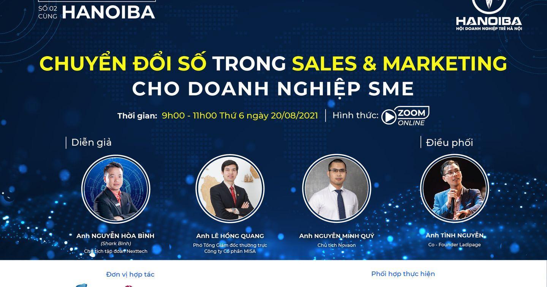 Workshop: Chuyển đổi số trong Sales & Marketing cho doanh nghiệp SME (20/08/2021)