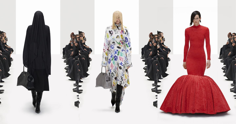 """Hợp tác với Gucci, Balenciaga tung bộ sưu tập """"Đạo nhái"""" trên sàn diễn ảo"""