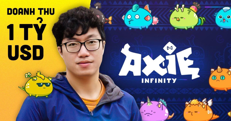 Axie Infinity - trò chơi do người Việt phát triển trở thành game NFT đầu tiên vượt mốc doanh thu 1 tỷ USD