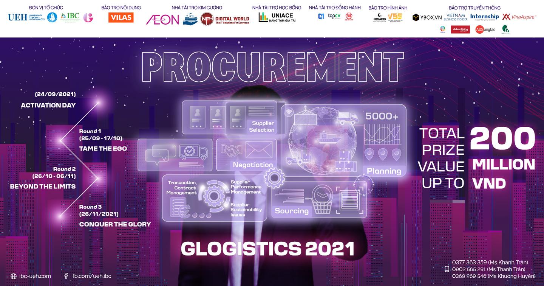[Chính thức phát động cuộc thi GLOGISTICS 2021 - Procurement]