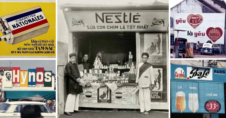 """Ngược dòng thời gian khám phá """"hình hài"""" quảng cáo Việt trước năm 1945"""