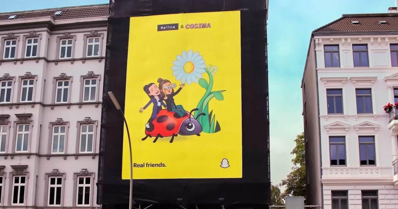 Snapchat triển khai campaign quảng cáo OOH giúp con người đến gần nhau hơn