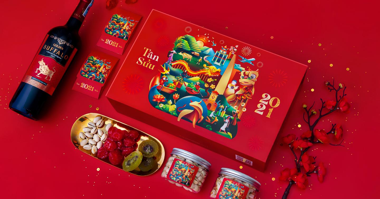 #Packaging: Tết Bình An - Thiết kế hộp quà Tết chứa đựng niềm hy vọng