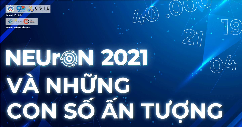 NEUrON 2021: Những con số ấn tượng