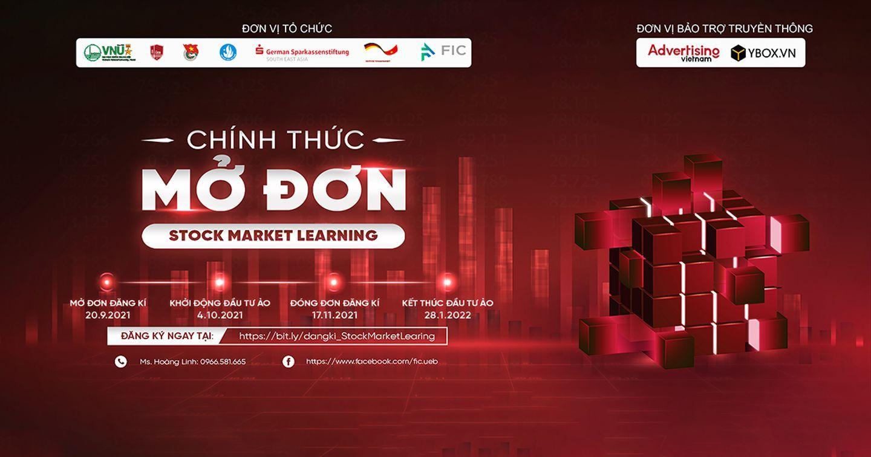 Stock Market Learning 2021 - Cuộc thi đầu tư Chứng khoán quốc tế hàng đầu dành cho sinh viên
