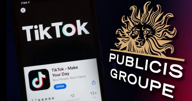 Publicis bắt tay với TikTok, mang đến lợi ích độc quyền cho thương hiệu khách hàng