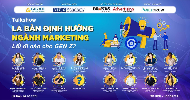 [Talkshow] La bàn định hướng ngành Marketing - Lối đi nào cho Gen Z?