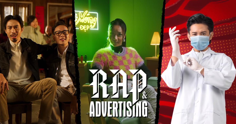 """Điểm tên những sản phẩm nổi bật trong cuộc """"chạy đua"""" quảng cáo nhạc Rap"""