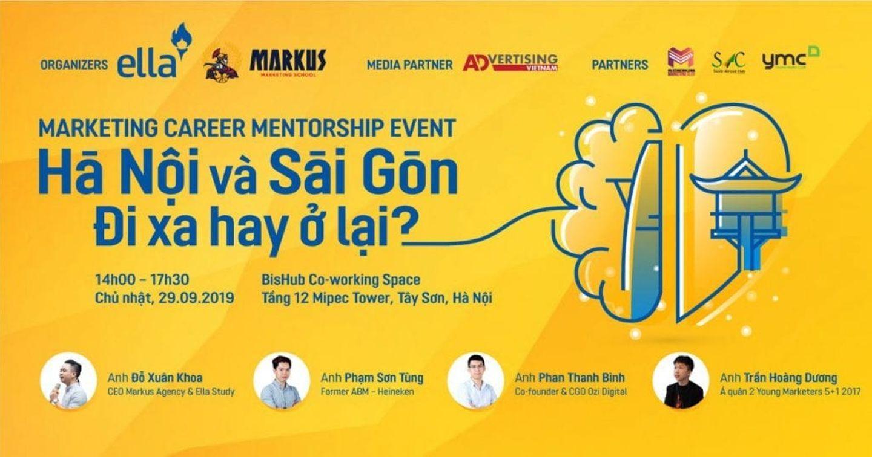 [Mời tham dự Event] Hà Nội và Sài Gòn - Đi xa hay Ở lại?