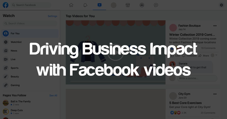 Hệ sinh thái khép kín về nội dung video trên nền tảng Facebook và Instagram