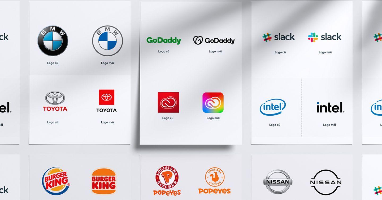 Top 10 thương hiệu làm mới logo 2020 - 2021