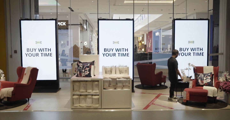 """Chiến dịch IKEA """"Buy with your time"""": Khi thời gian trở thành một đơn vị tiền tệ"""