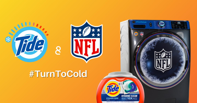 Tide và NFL hợp tác khuyến khích mọi người giặt lạnh để tiết kiệm năng lượng