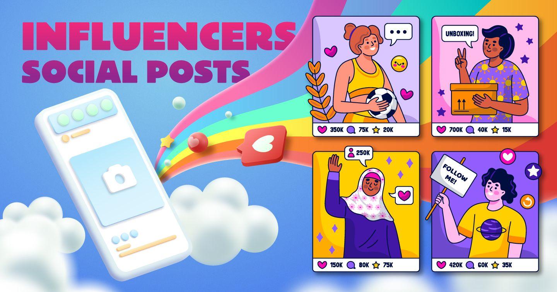 [Infographic] Quy trình tạo bài đăng thương hiệu của Influencer
