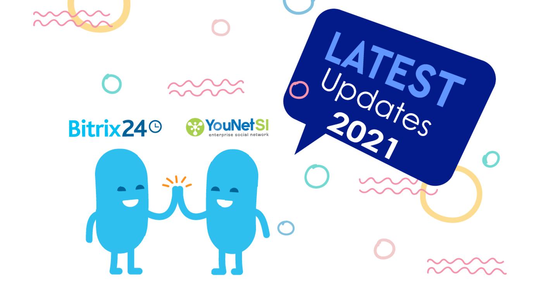 [YouNet SI] Chuyển đối số toàn diện với Bitrix24 phiên bản mới nhất 2021!