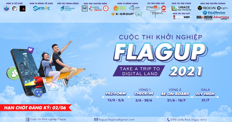 Cuộc thi Khởi nghiệp FLAGUP 2021 chính thức khởi động