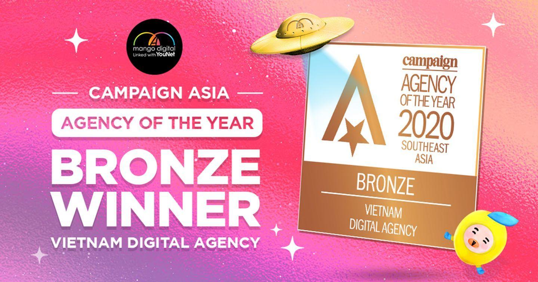 Cột mốc quan trọng đưa Mango Digital đến giải thưởng Vietnam Digital Agency of the Year 2020 - Campaign Asia-Pacific