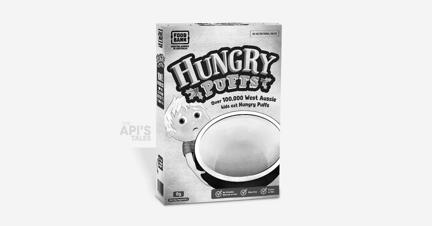 Hungry Puffs | 1 empty box for 10 full meals