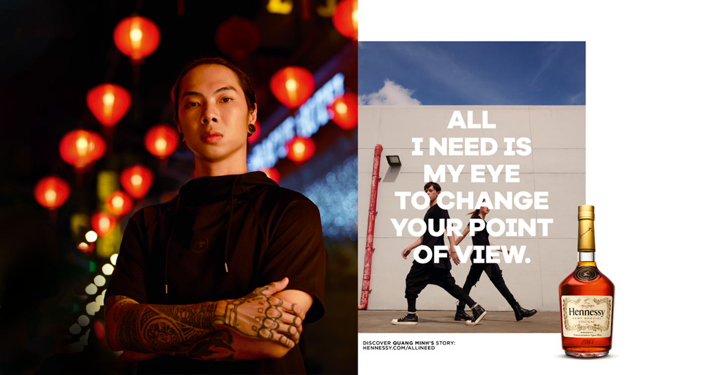 """The Hennessy Very Special """"All I Need"""" Campaign - Images celebrate creative pioneers across artistic horizons"""