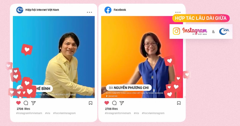 """Facebook phối hợp cùng Hiệp hội Internet Việt Nam tổ chức """"Học viện Instagram"""" - hỗ trợ doanh nghiệp khởi nghiệp và phục hồi sau đại dịch"""