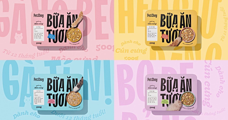 """Thương hiệu thức ăn thú cưng Pet Choy tái cấu trúc thương hiệu: Hết mình vì thực khách """"bốn chân"""" thân yêu!"""