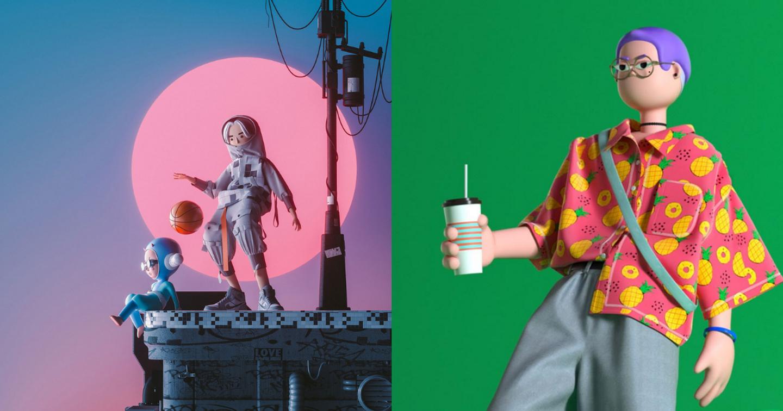 """Khám phá trào lưu Minh họa 3D và Thiết kế nhân vật """"làm mưa làm gió"""" tại Trung Quốc"""