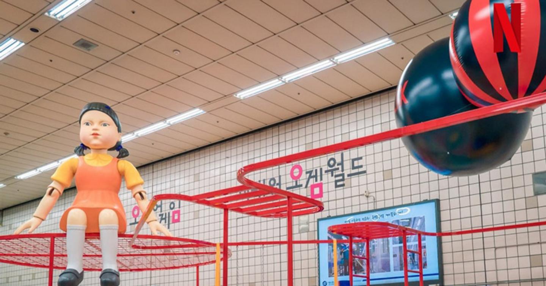Chiến dịch quảng bá Squid Game x Netflix Korea: Tiền ơi, tiền rơi bị bà!