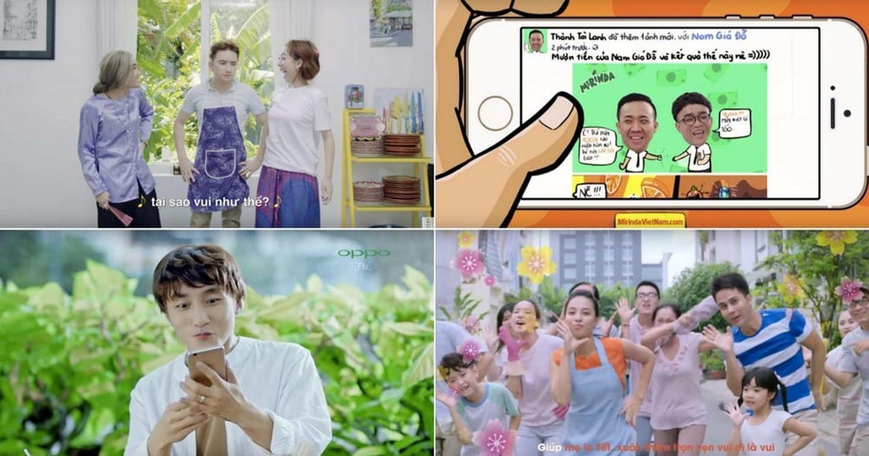 Việt Nam có 4 Quảng cáo nằm trong top 10 video được xem nhiều nhất YouTube Châu Á năm 2016