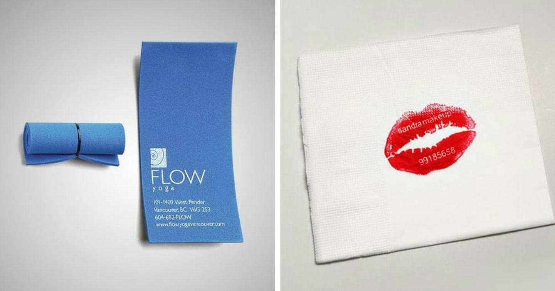 Những mẫu thiết kế Business Card sáng tạo