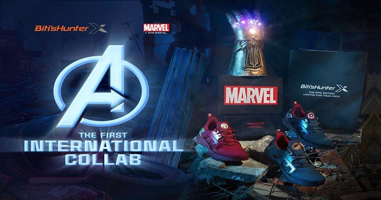 Biti's trình làng mẫu giày siêu anh hùng Hunter x Marvel ngay dịp công chiếu Avenger: Infinity War