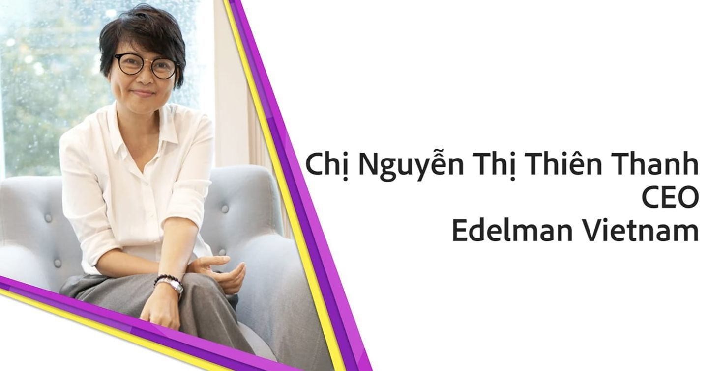 CEO Edelman Vietnam: Ngành quảng cáo truyền thông là một ngành mà nữ giới có rất nhiều thuận lợi