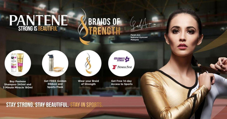 """Sau Nike, Pantene tung ra chiến dịch """"Braids of Strength"""" khích lệ các cô gái theo đuổi đam mê thể thao"""