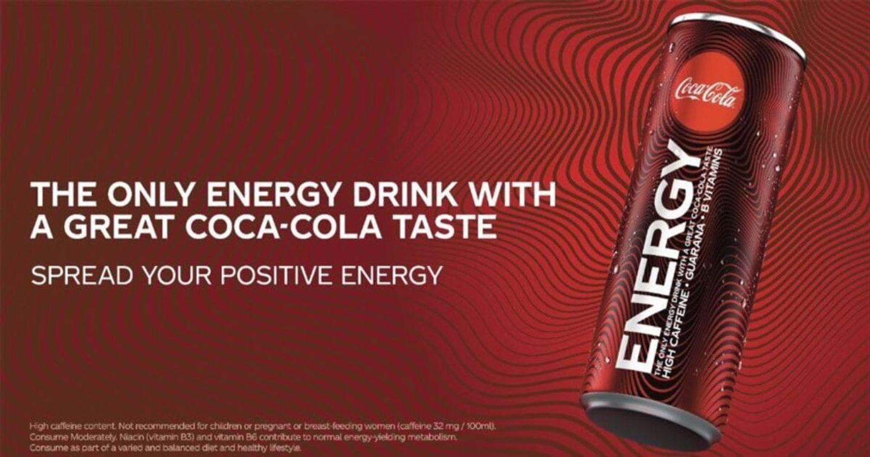 Ngày càng đa dạng hóa thương hiệu, Coca Cola ra mắt sản phẩm nước tăng lực tại Anh