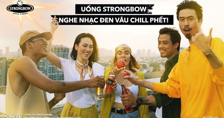 """Ai là người đứng sau chiến dịch truyền thông tinh tế của Strongbow Cider cùng MV """"Bài này chill phết""""?"""