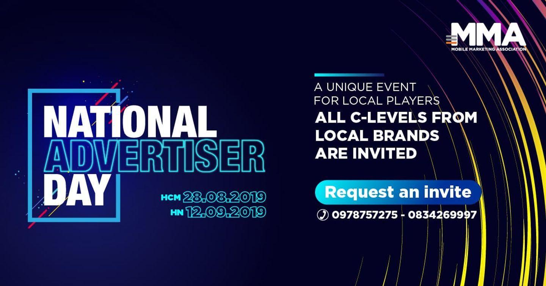 """[Event] NATIONAL ADVERTISER DAY 2019 - """"Sân chơi"""" mới dành riêng cho các local brand"""