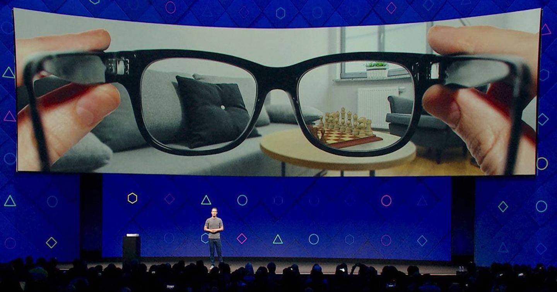 Facebook hợp tác với Ray-Ban sản xuất kính thông minh AR