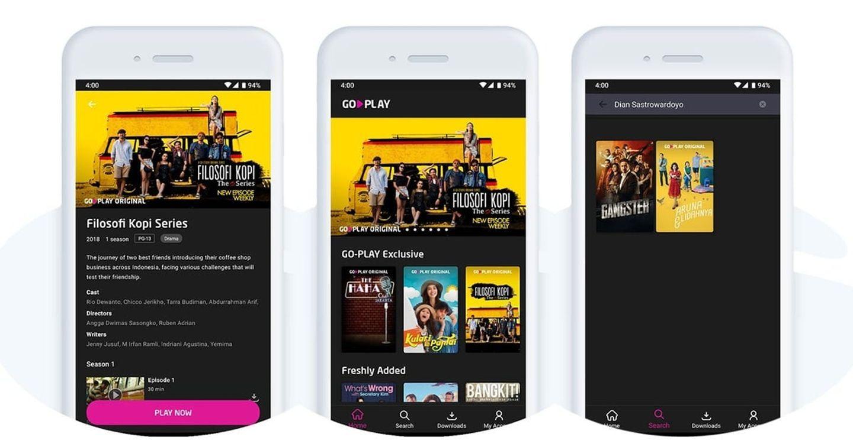 Go-jek vừa ra mắt nền tảng phát video trực tuyến GoPlay
