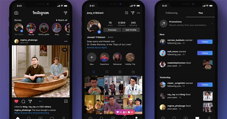 Instagram chính thức cập nhật chế độ Dark Mode