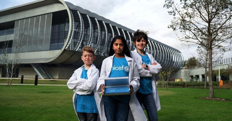 UNICEF giới thiệu tài liệu đầu tiên được lưu trữ trong DNA