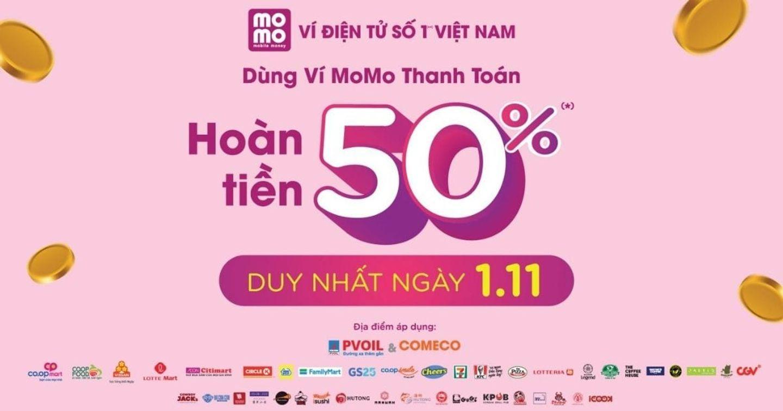"""[Case Study] Điều gì khiến """"Ngày hội MoMo 1/11- Siêu hoàn tiền 50%"""" thành công mùa mua sắm cuối năm 2019?"""