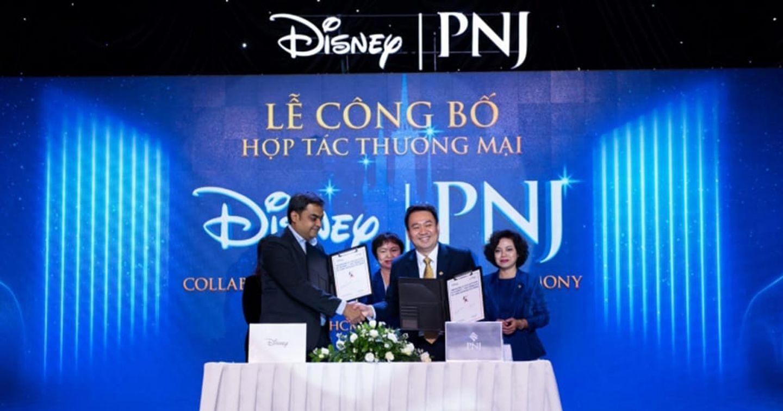 PNJ hợp tác cùng Walt Disney