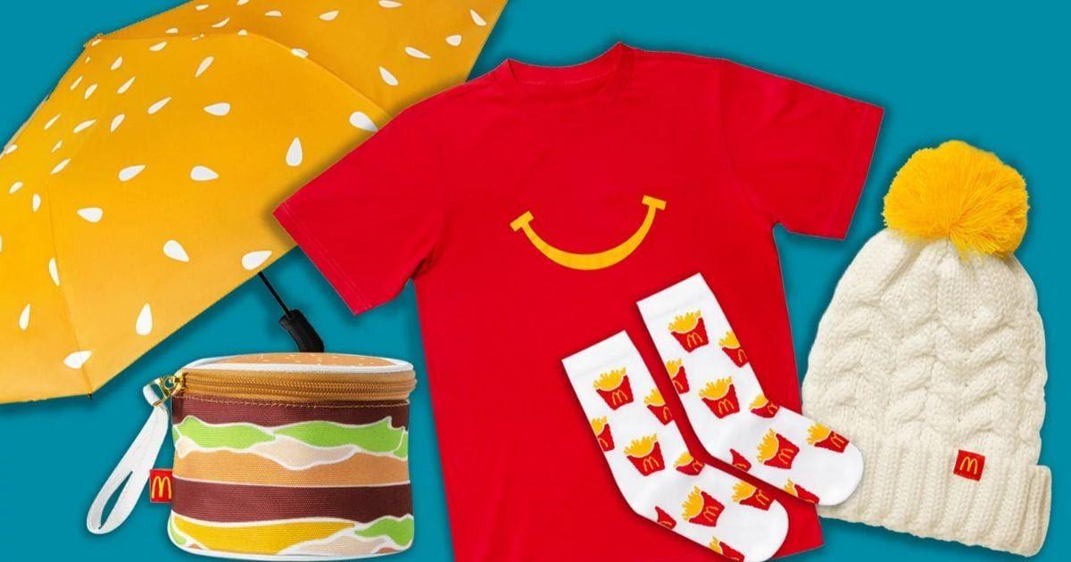 Chiêm ngưỡng bộ sưu tập đồ dùng cá nhân cho fan McDonald's