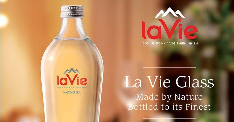 La Vie ra mắt sản phẩm chai thủy tinh, đảm bảo thu gom và tái chế