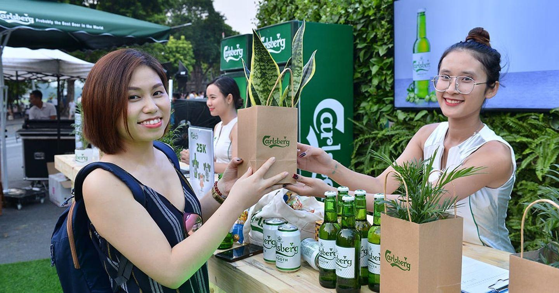 Happiness Saigon chung tay cùng Carlsberg mang bia tươi ngon và không khí trong lành hơn đến Hà Nội