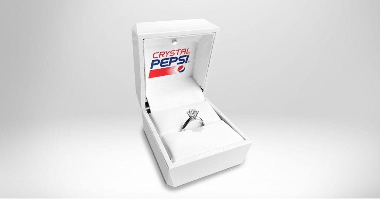 Chiêm ngưỡng chiếc nhẫn kim cương làm từ Crystal Pepsi