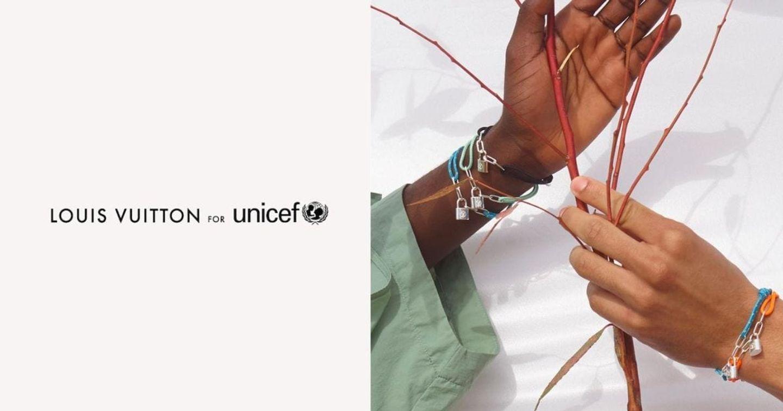UNICEF và Louis Vuitton trình làng bộ sưu tập vòng tay 2020